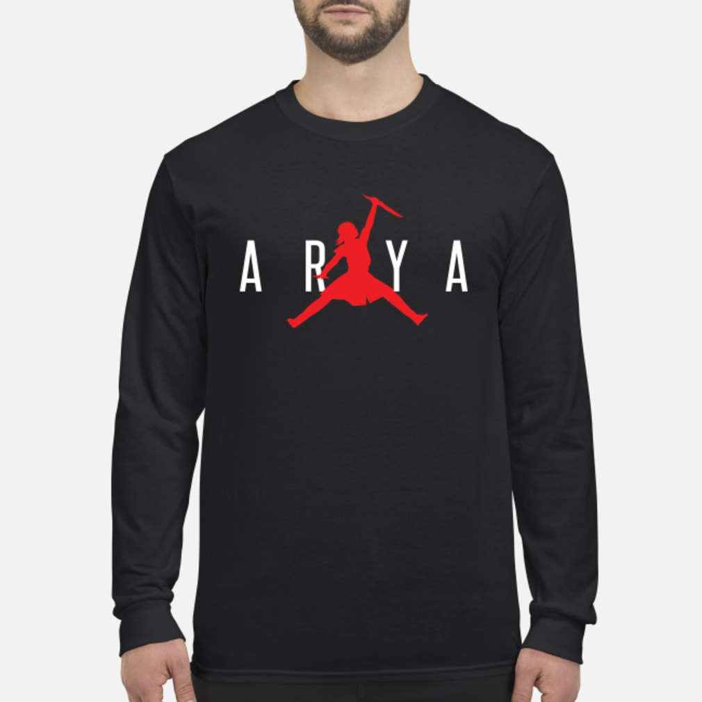 Arya jumpman shirt Long sleeved