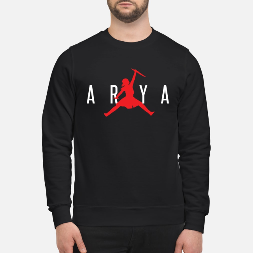 Arya jumpman shirt sweater