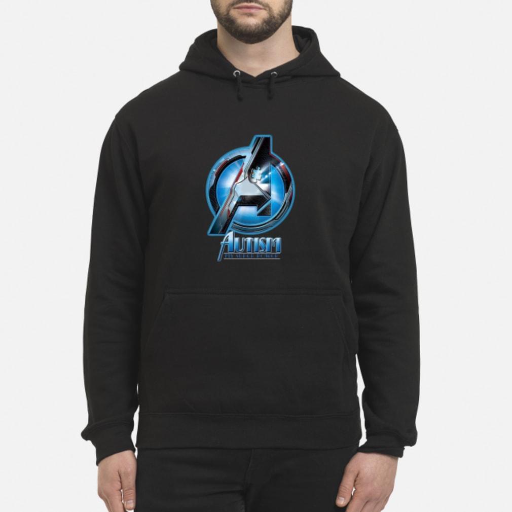 Avenger logo Autism my super power shirt hoodie