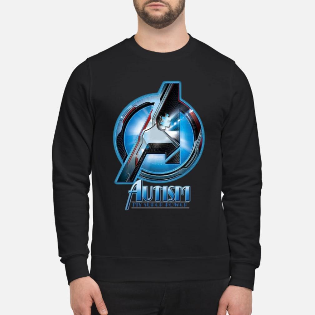 Avenger logo Autism my super power shirt sweater