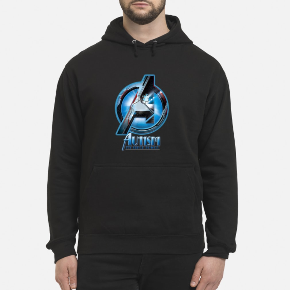 Avengers autism my super power shirt hoodie