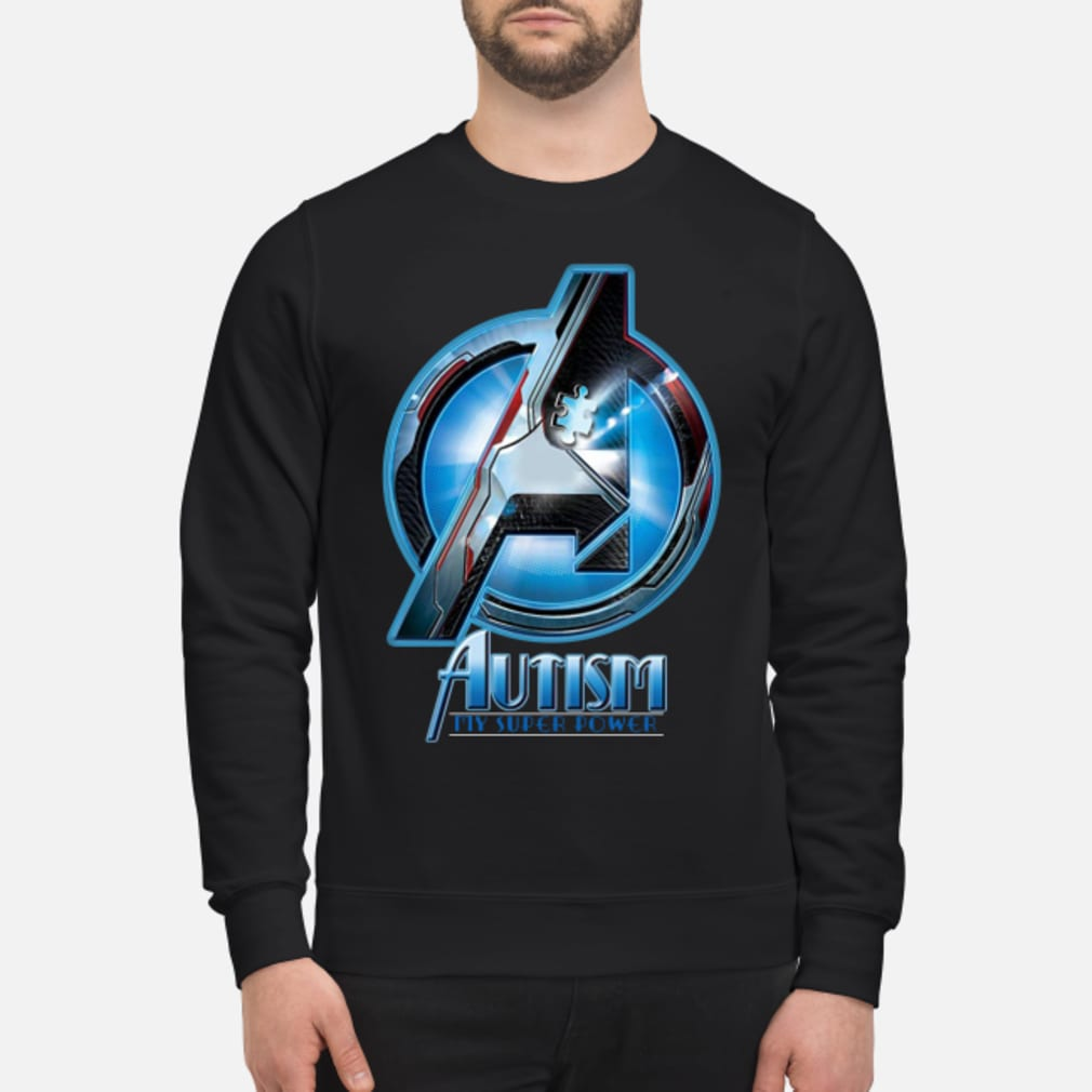 Avengers autism my super power shirt sweater