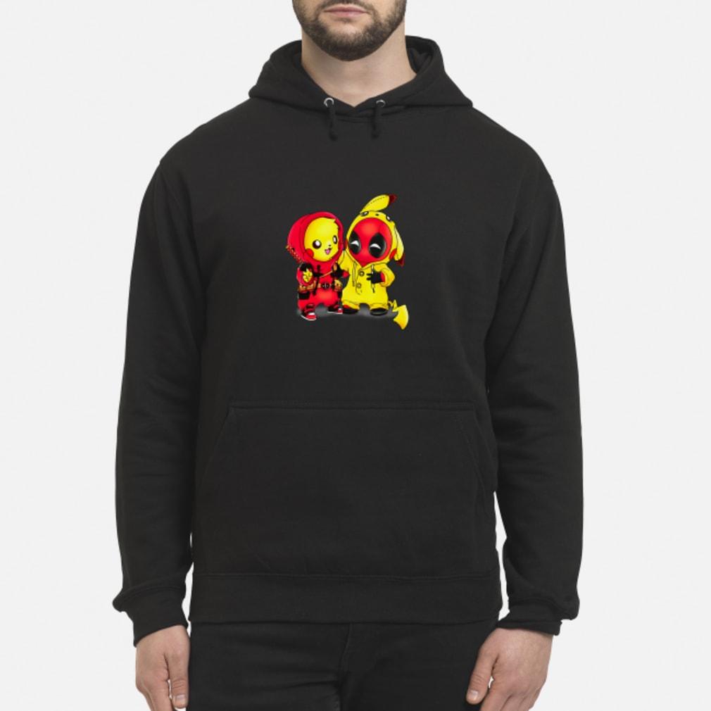 Baby Pikapool Pikachu Deadpool Mashup Detective Pikachu shirt hoodie