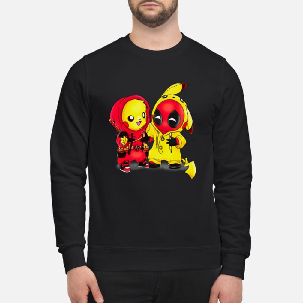 Baby Pikapool Pikachu Deadpool Mashup Detective Pikachu shirt sweater