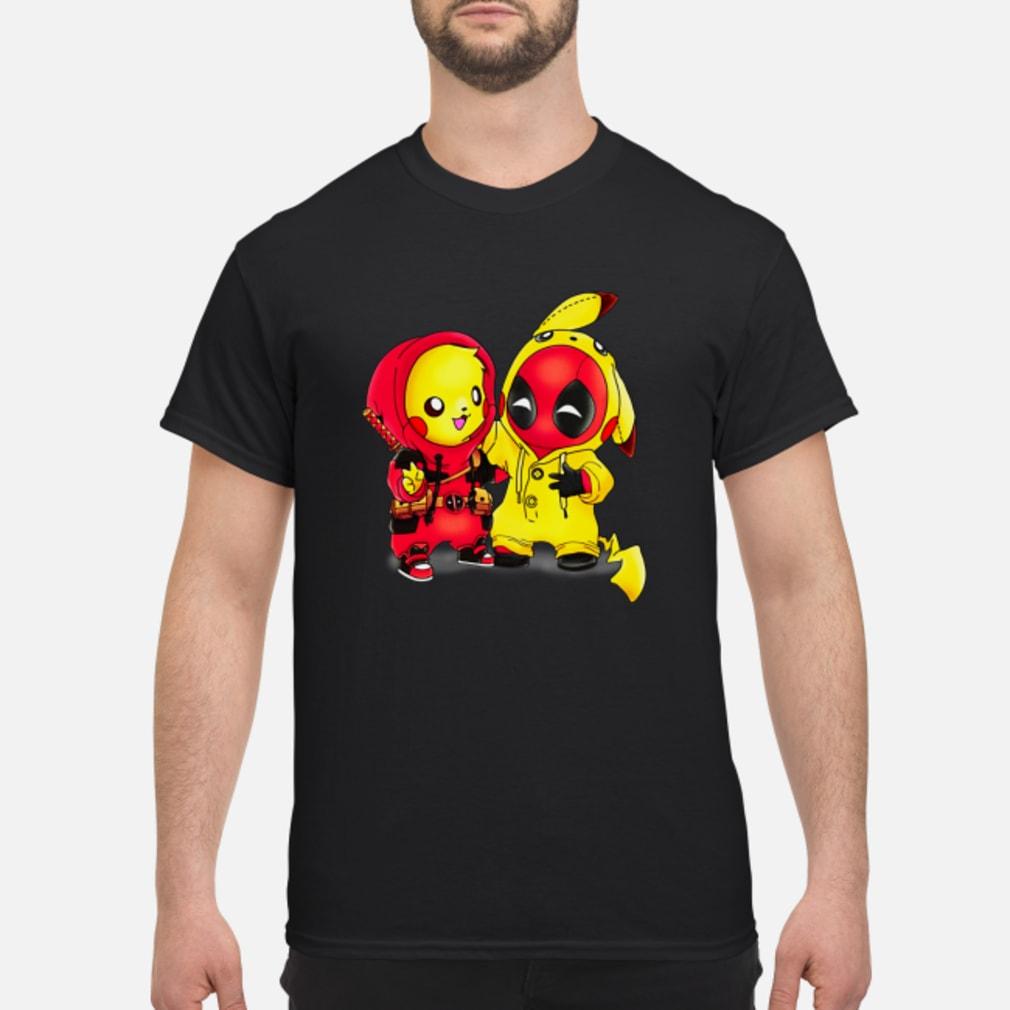 Baby Pikapool Pikachu Deadpool Mashup Detective Pikachu shirt