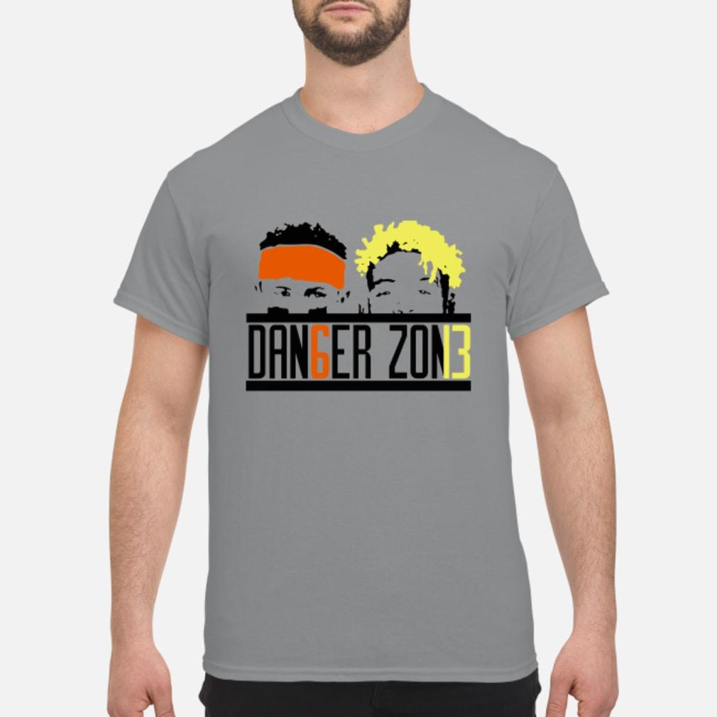 d0dc914f052 Official Baker Mayfield and Odell Beckham JR Danger Zone shirt ...