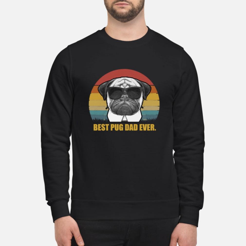 Best Pug Dad ever vintage shirt sweater