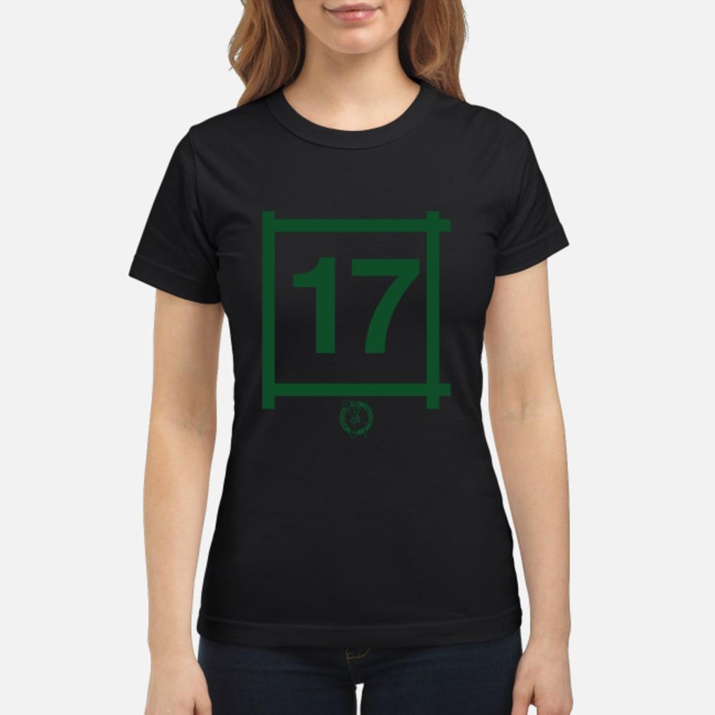 Boston Celtics 17 John Havlicek Gift Shirt ladies tee