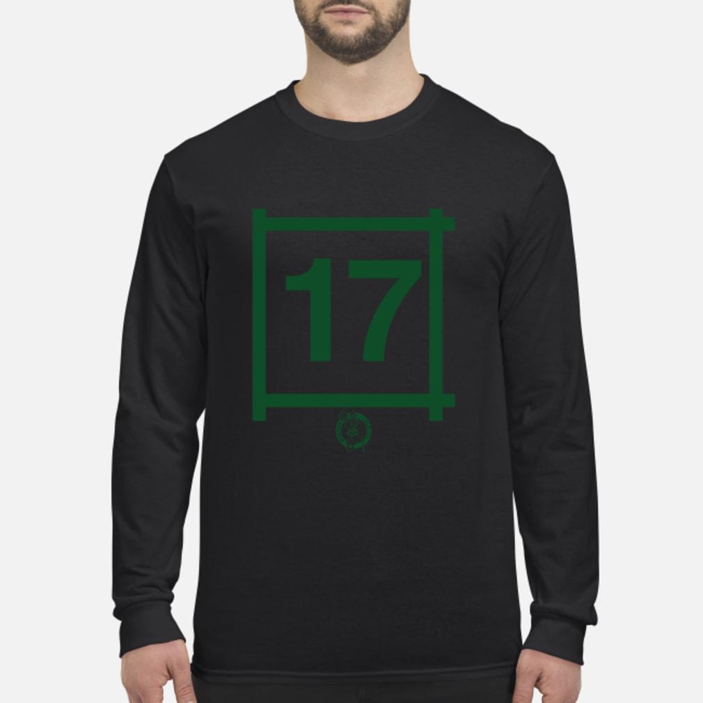 Boston Celtics 17 John Havlicek Gift Shirt Long sleeved