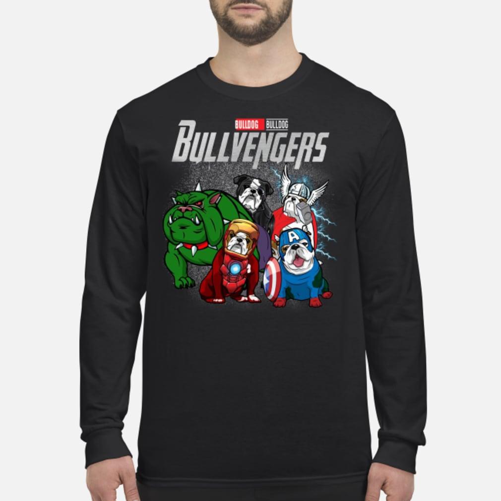 Bullvengers Bulldog shirt Long sleeved
