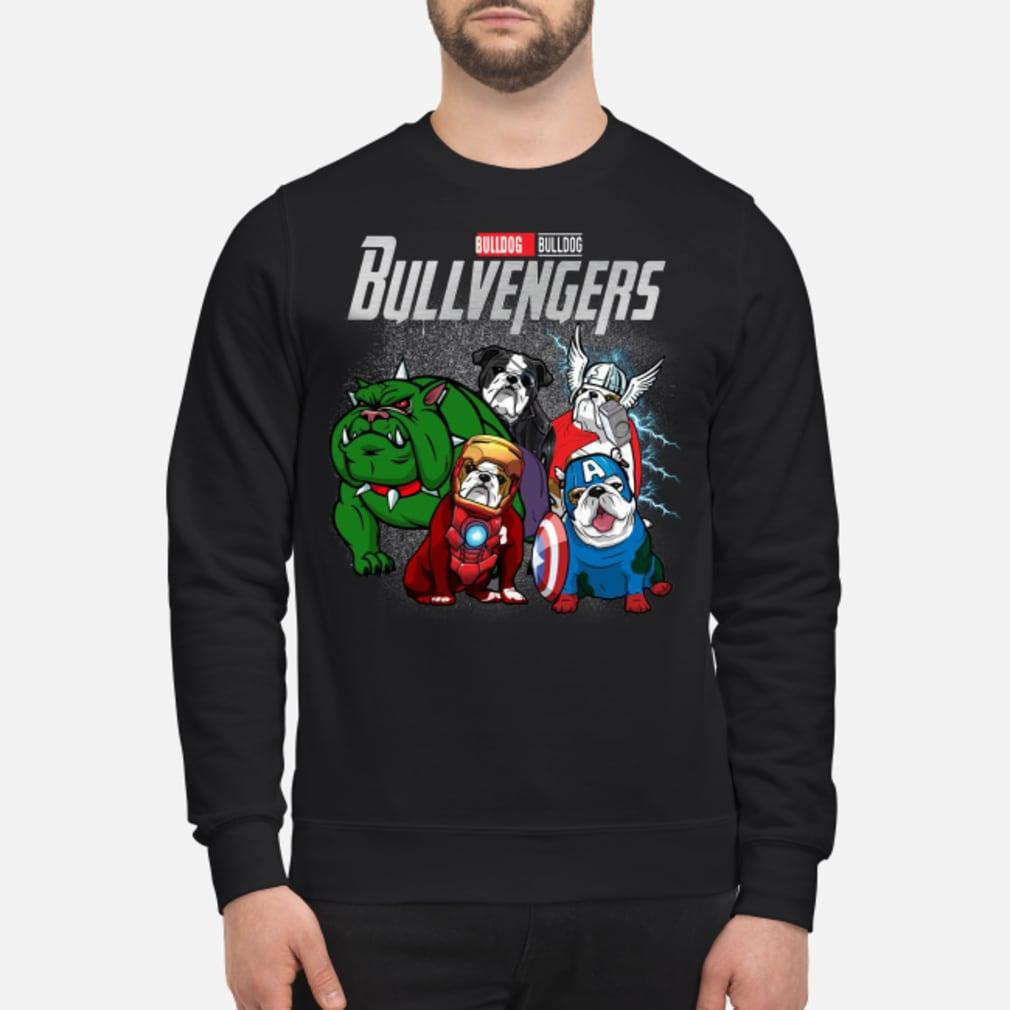 Bullvengers Bulldog shirt sweater