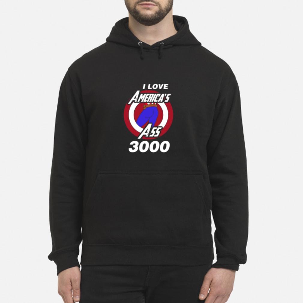 Captain America I love America's ass 3000 shirt hoodie