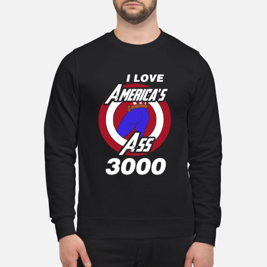 Captain America I love America's ass 3000 shirt sweater