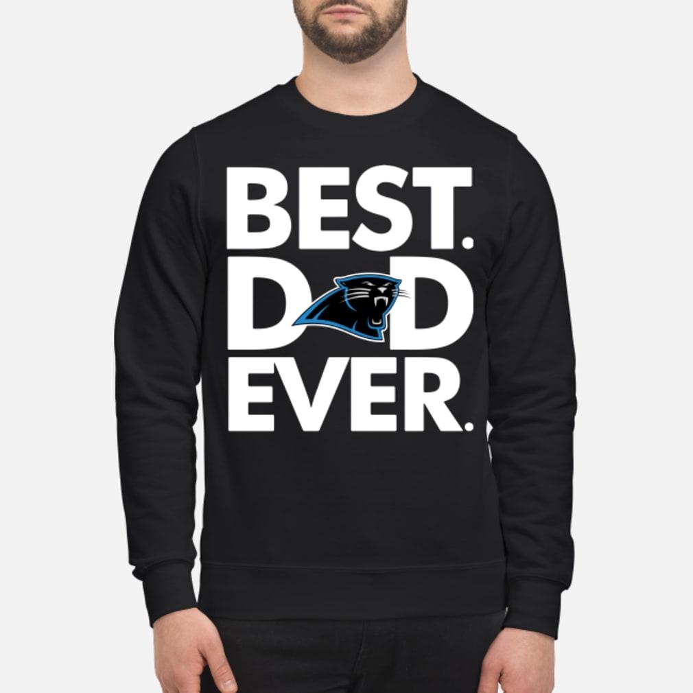 Carolina Panthers Best Dad ever shirt sweater