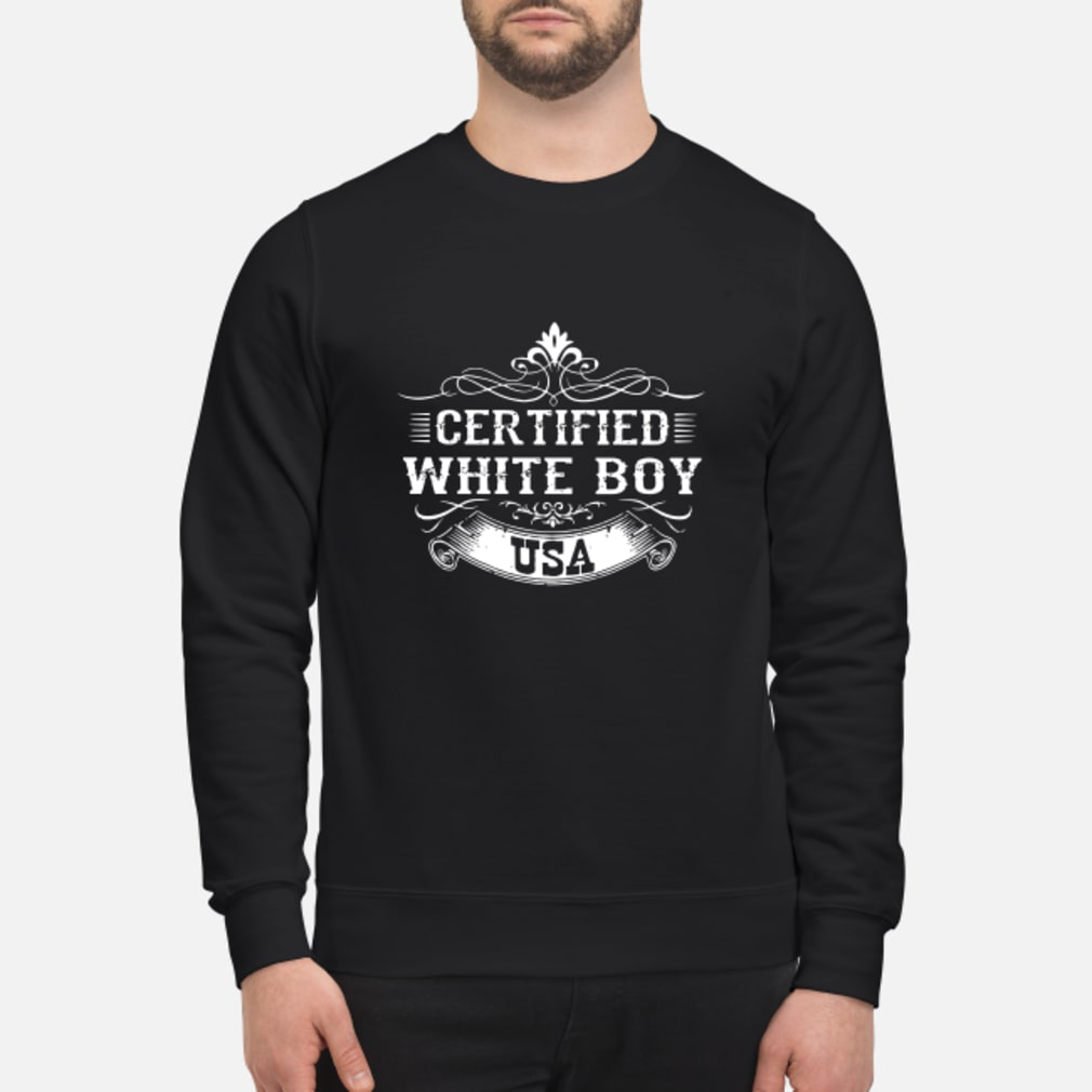 Certified whiteboy USA shirt sweater