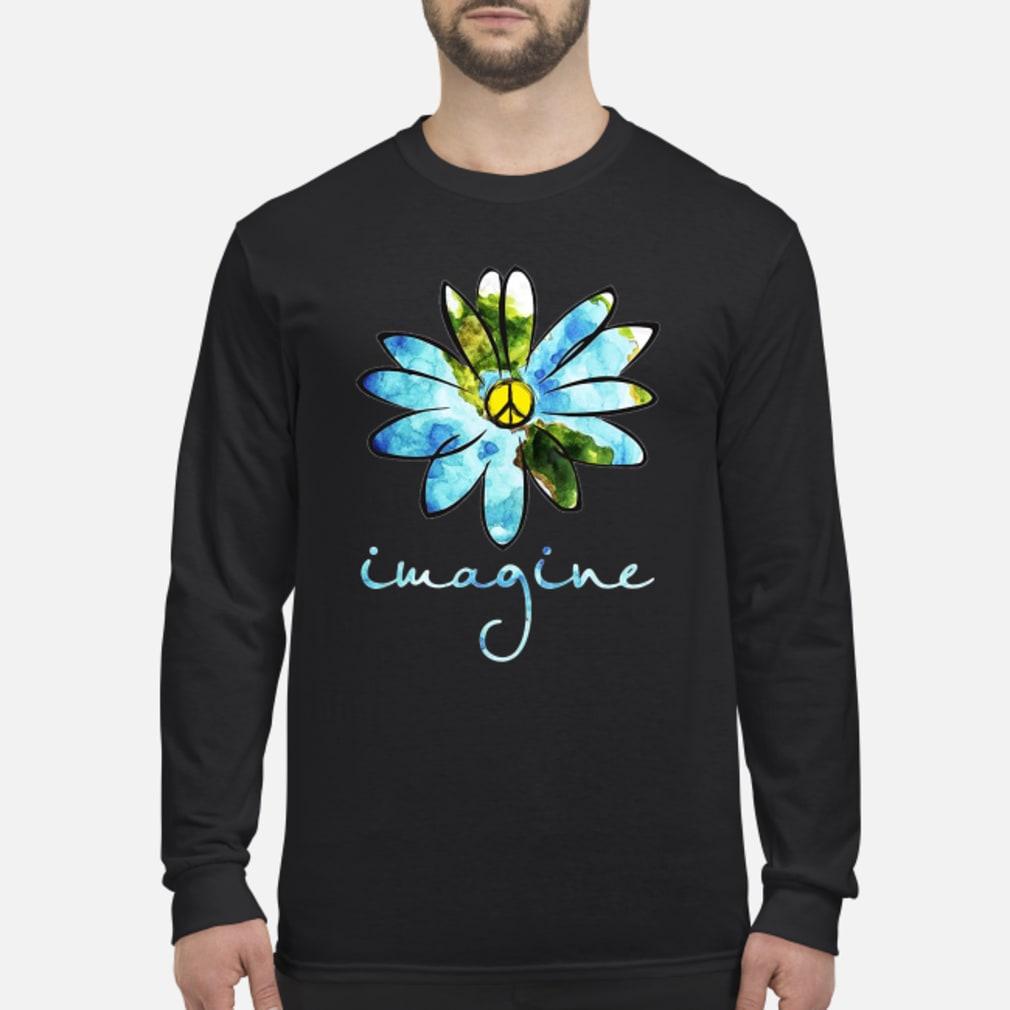 Daisy Earth Hippie imagine shirt Long sleeved