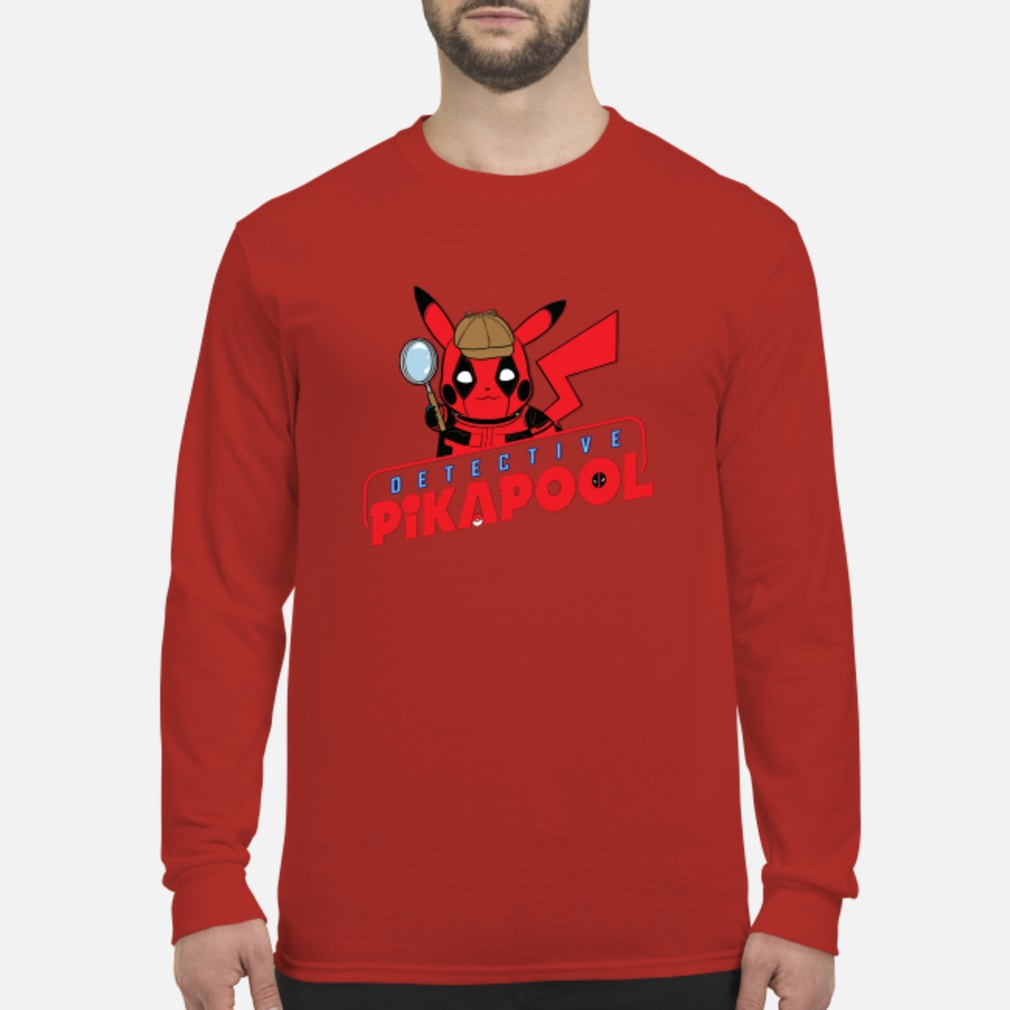 Detective Pikapool Shirt long sleeved