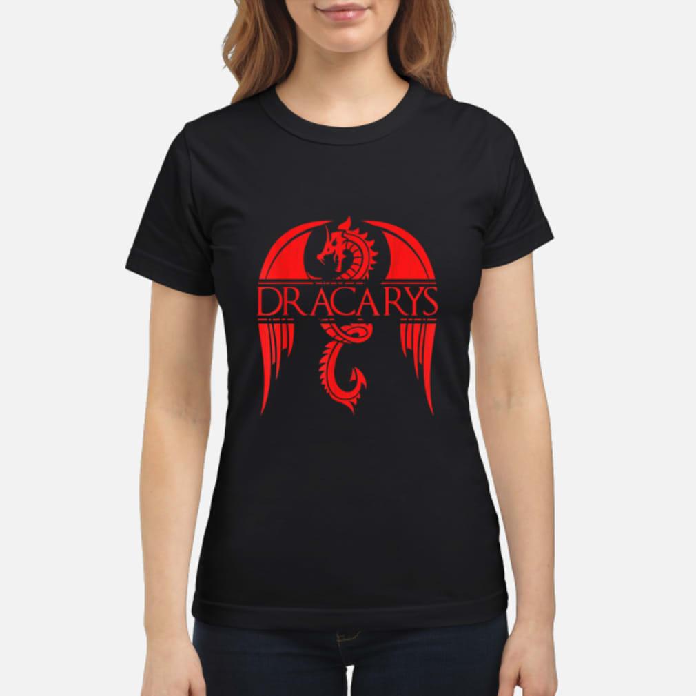 Dragon dracarys game of thrones shirt ladies tee