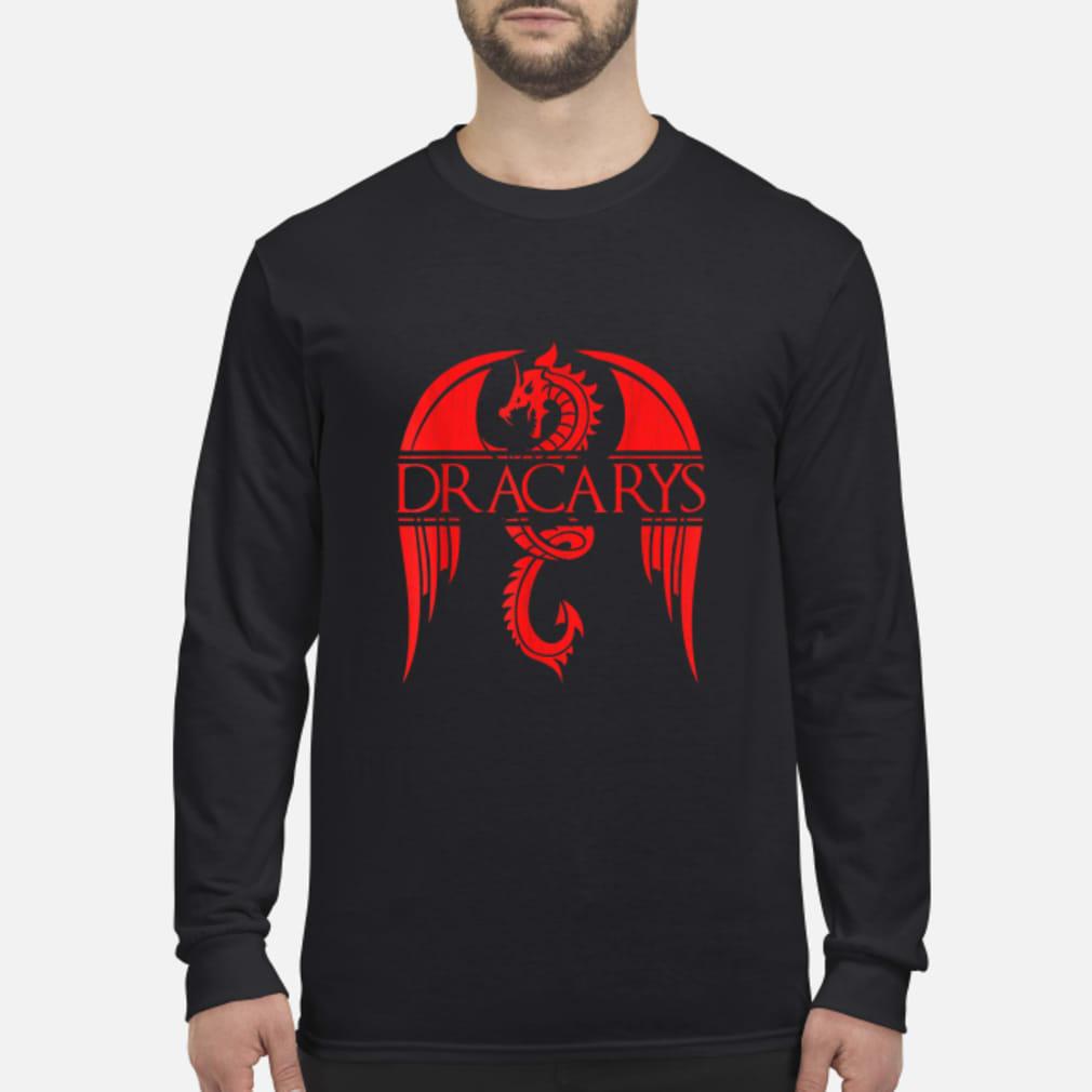 Dragon dracarys game of thrones shirt Long sleeved