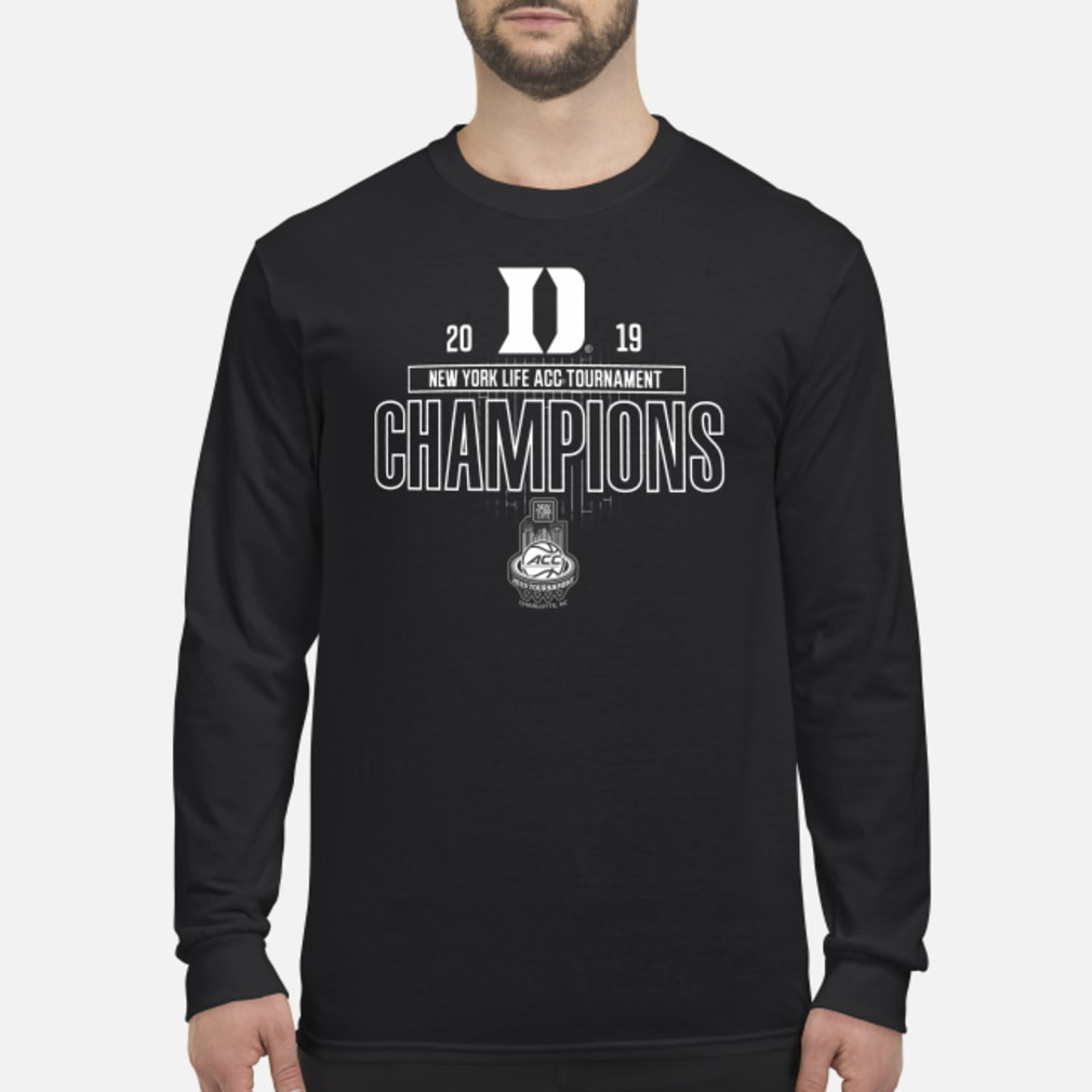 Duke acc championship shirt long sleeved