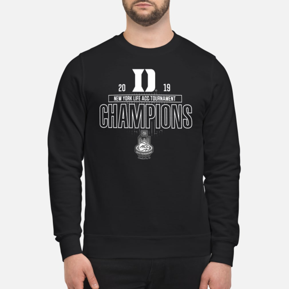 Duke acc championship shirt sweater