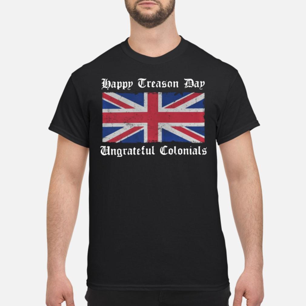 Flag happy day ungrateful shirt