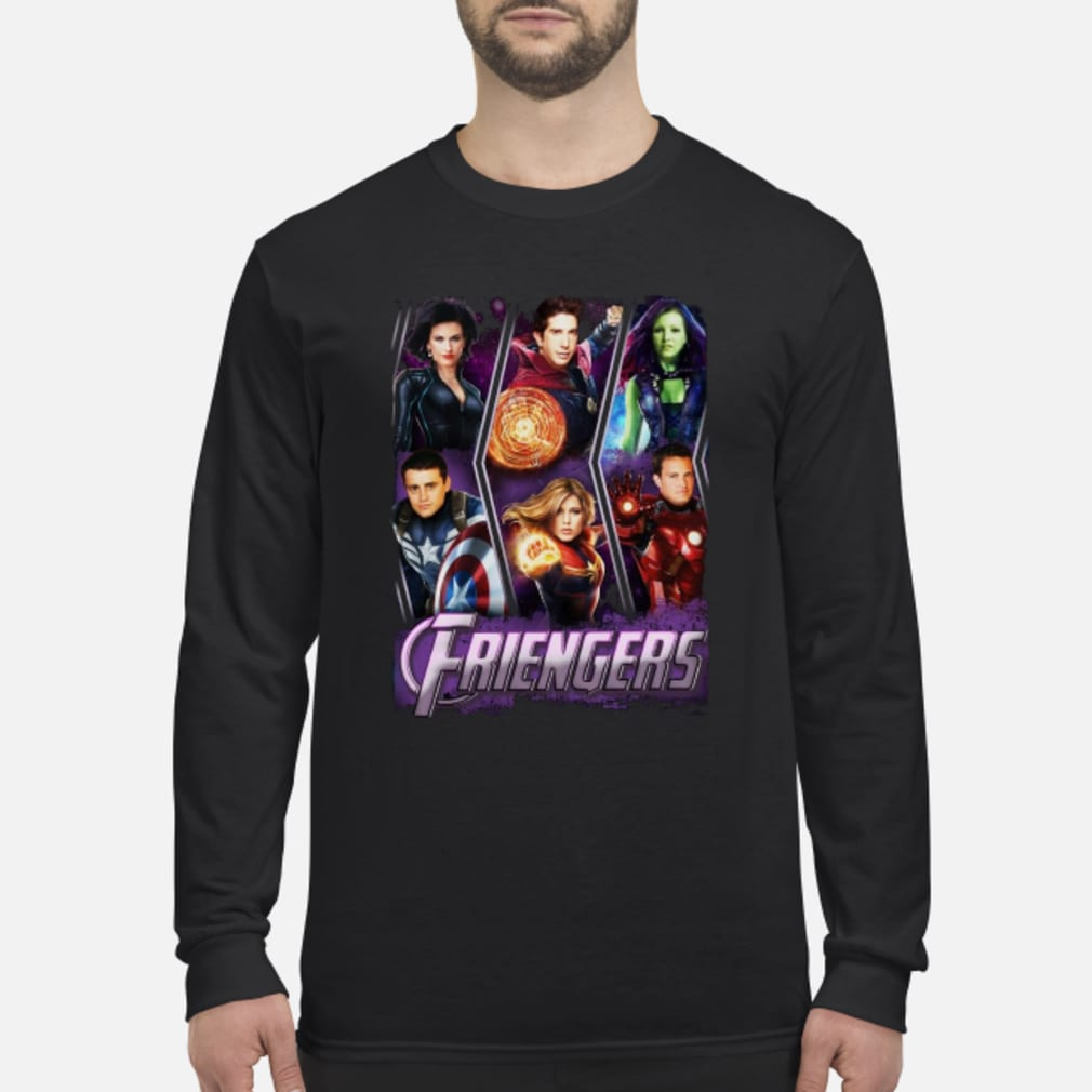 Friengers Friend Avengers Shirt Long sleeved