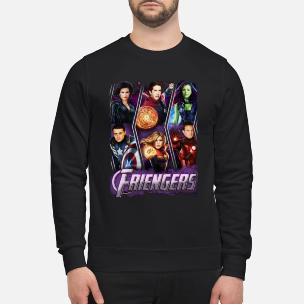 Friengers Friend Avengers Shirt sweater