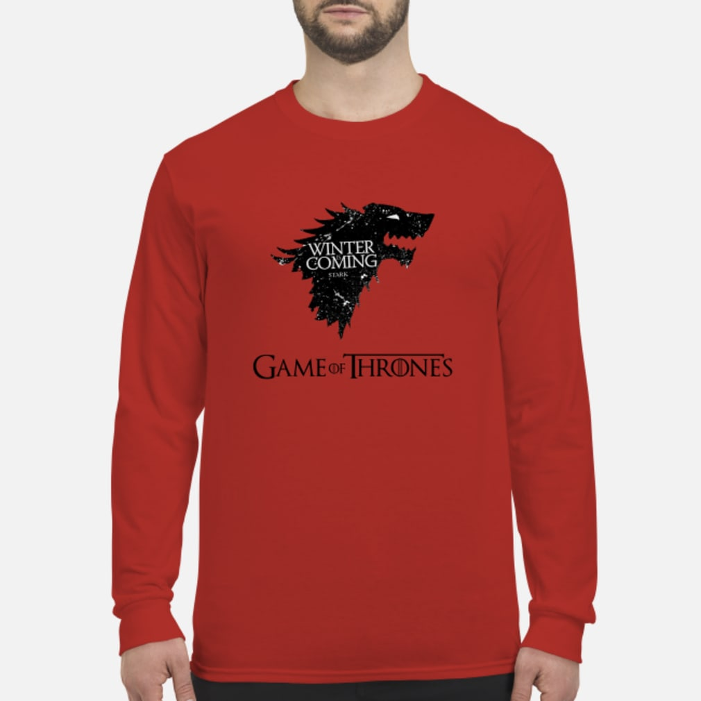 Game Of Thrones Winter is Stark shirt Long sleeved