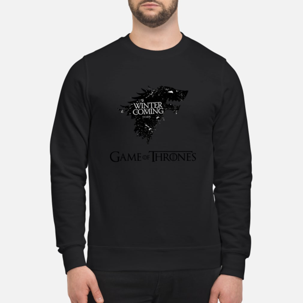 Game Of Thrones Winter is Stark shirt sweater