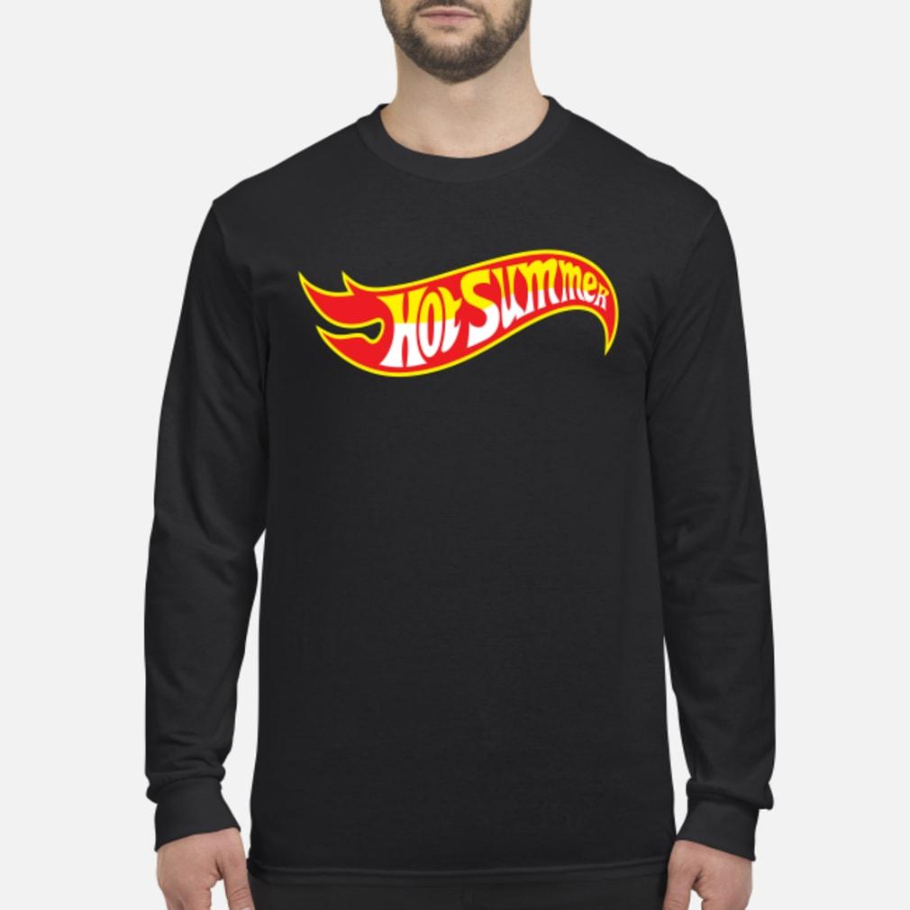 Hot Summer Shirt Long sleeved