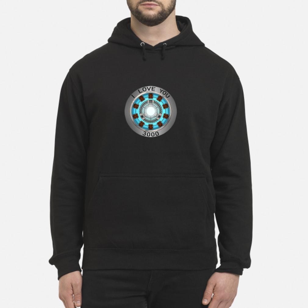 I Love You 3000 times heart Tony Stark shirt hoodie