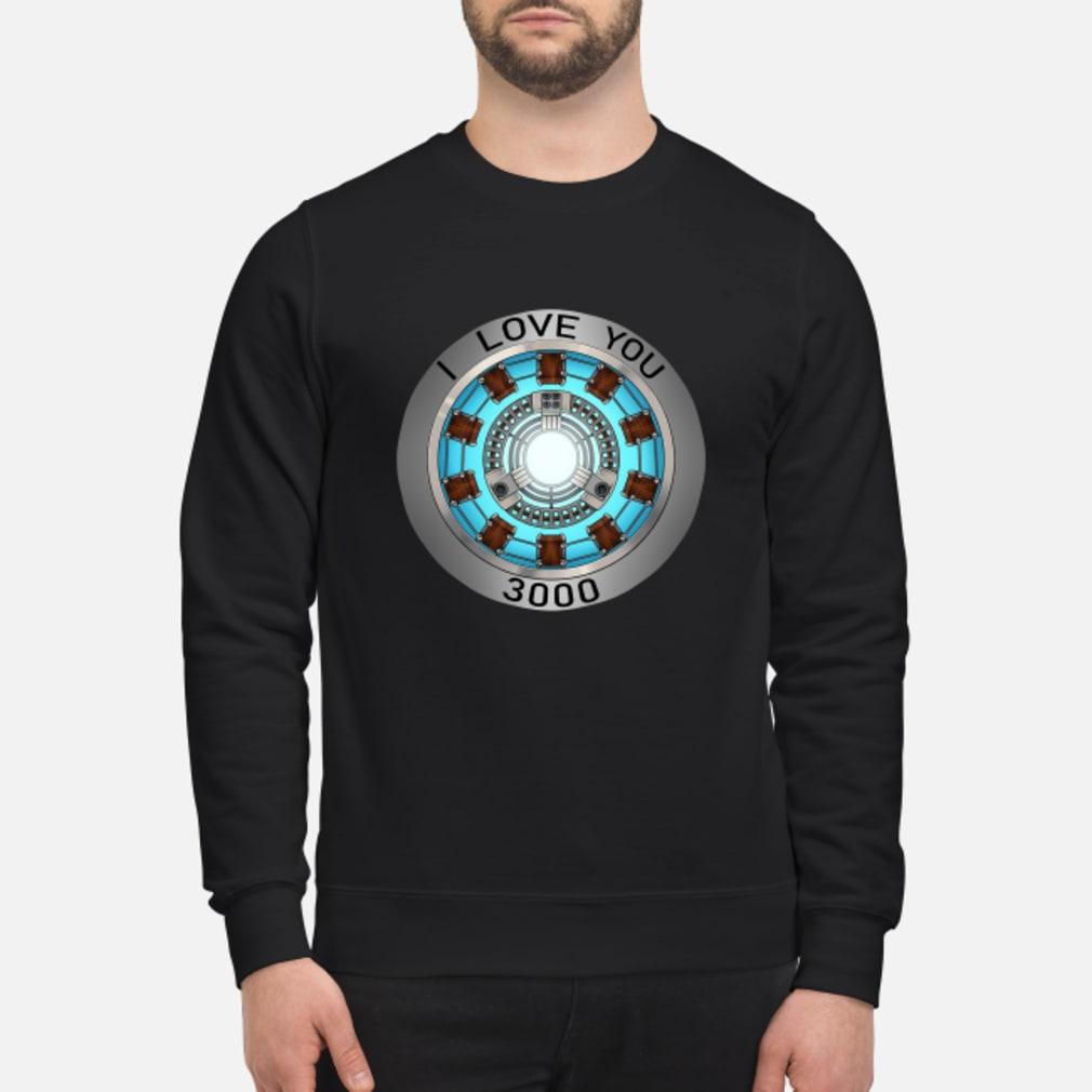 I Love You 3000 times heart Tony Stark shirt sweater