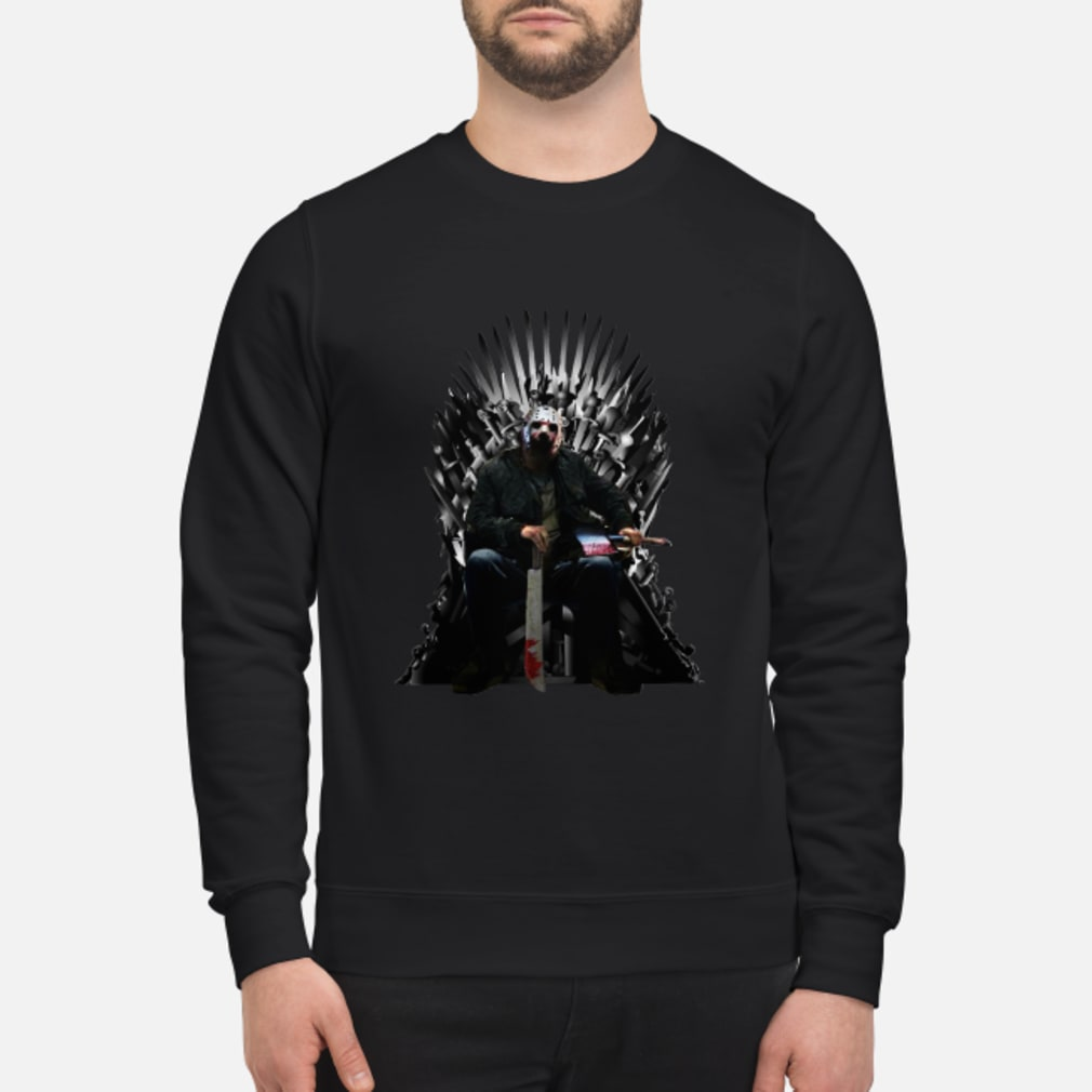 Jason Voorhees GOT Iron Thrones shirt sweater