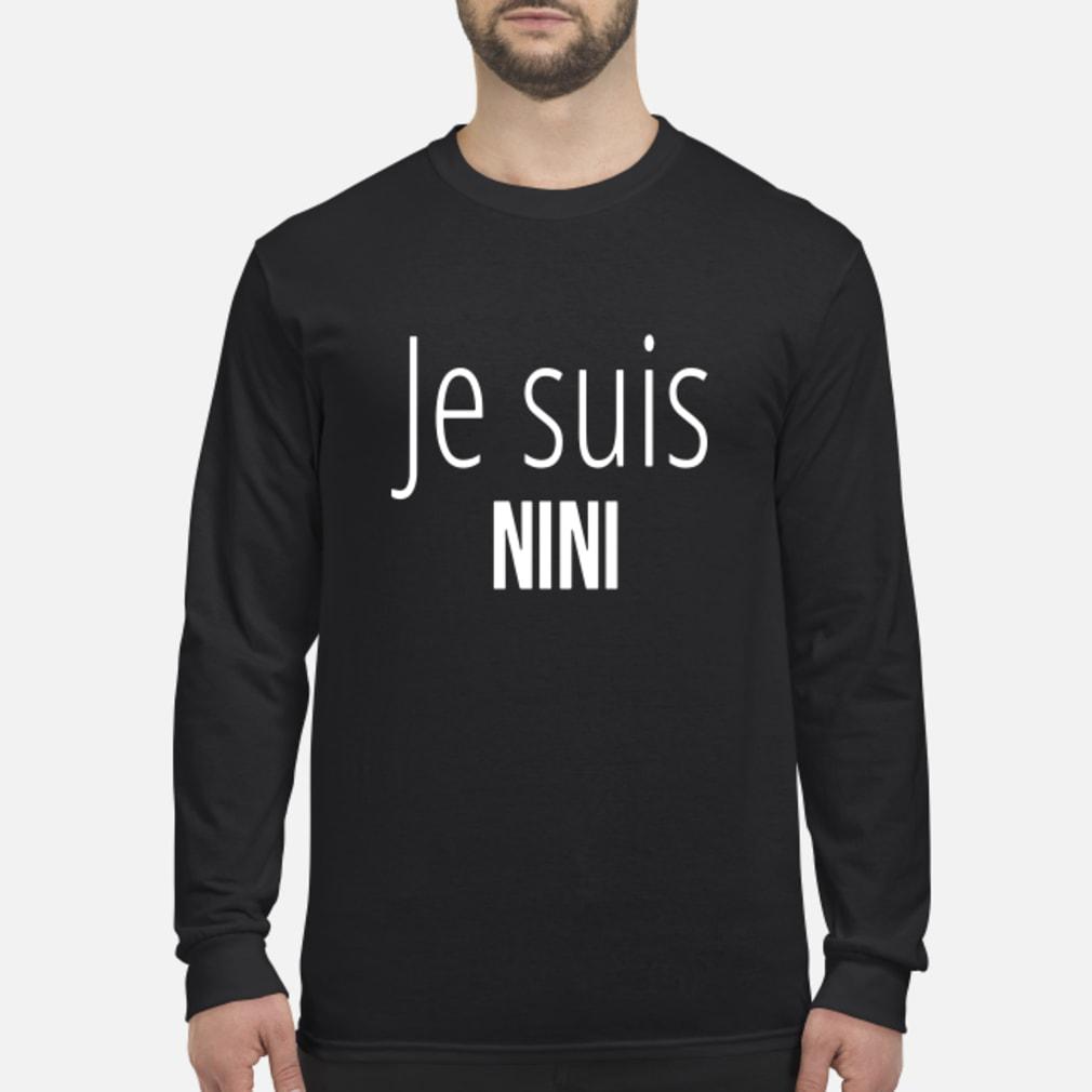 Je Suis Nini Shirt Long sleeved
