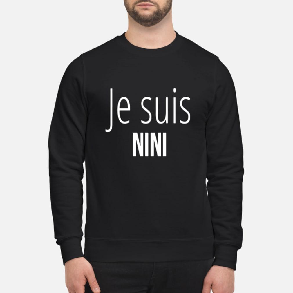 Je Suis Nini Shirt sweater