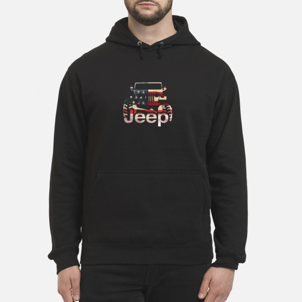 Jeep Flag USA shirt hoodie
