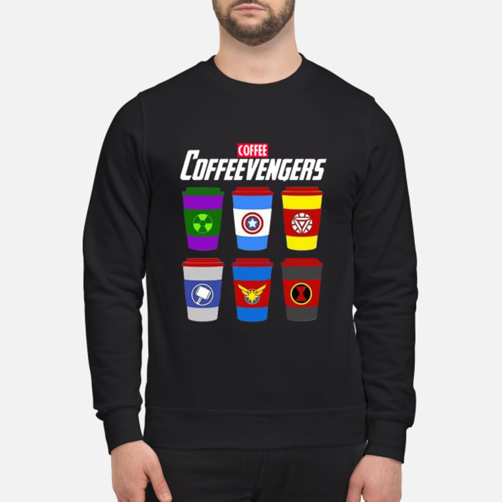 Marvel Avengers Coffee Coffeevengers shirt sweater