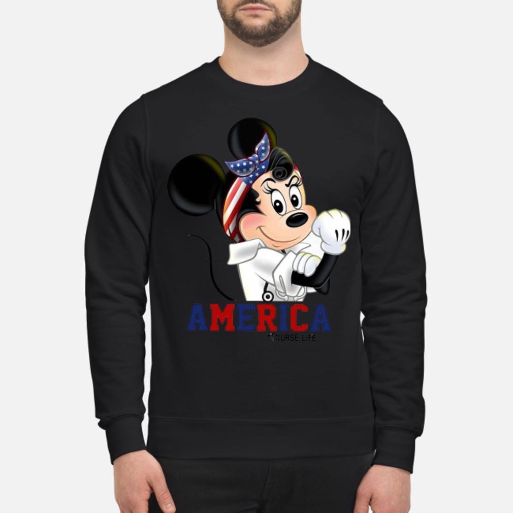 Mickey American life shirt sweater