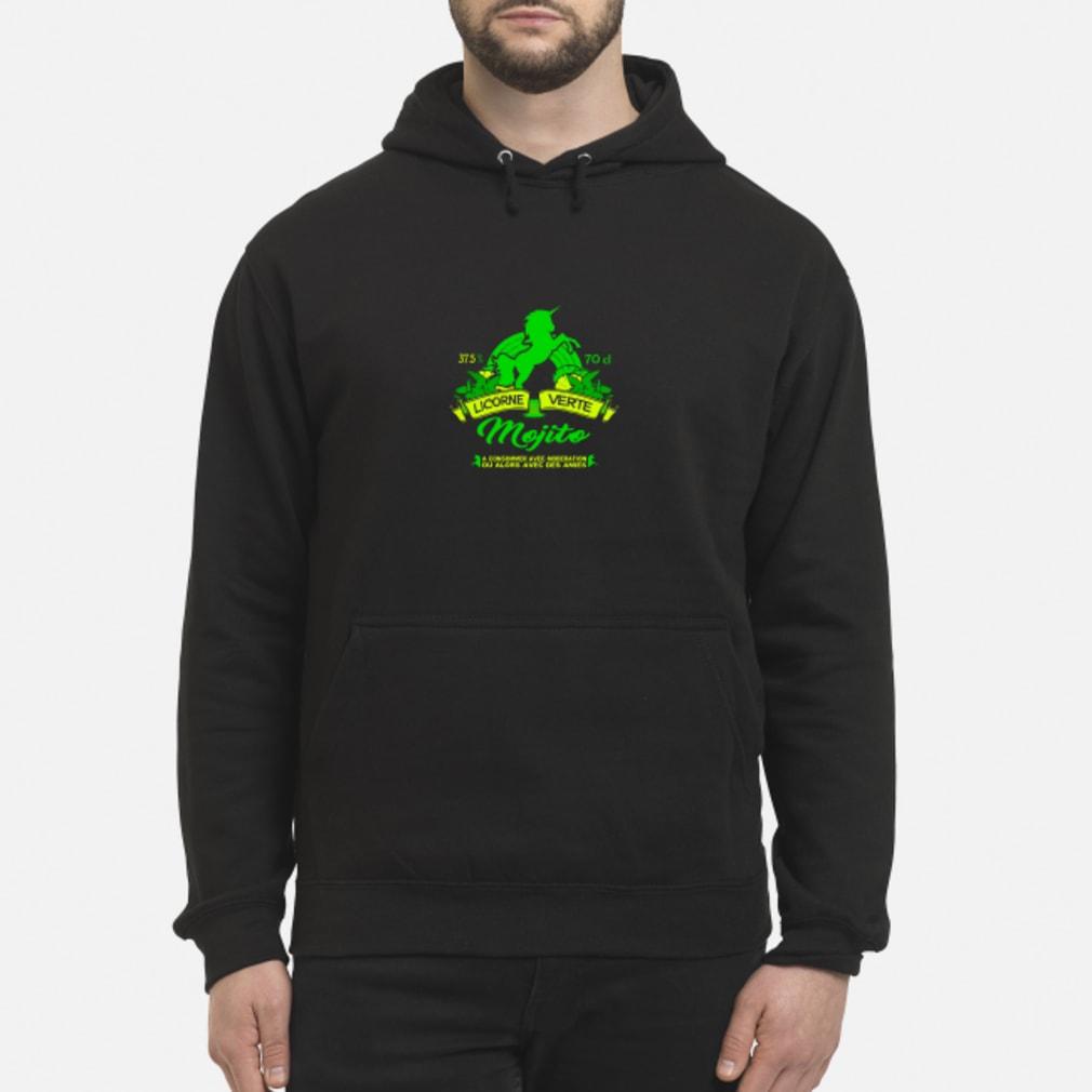 Mojito lincorne verte shirt hoodie