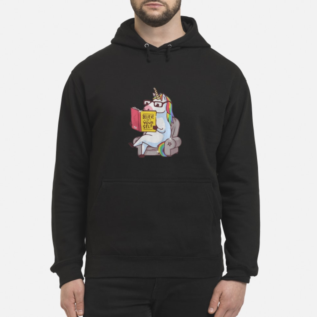 Mr. Unicorn Reads On The Soa shirt hoodie