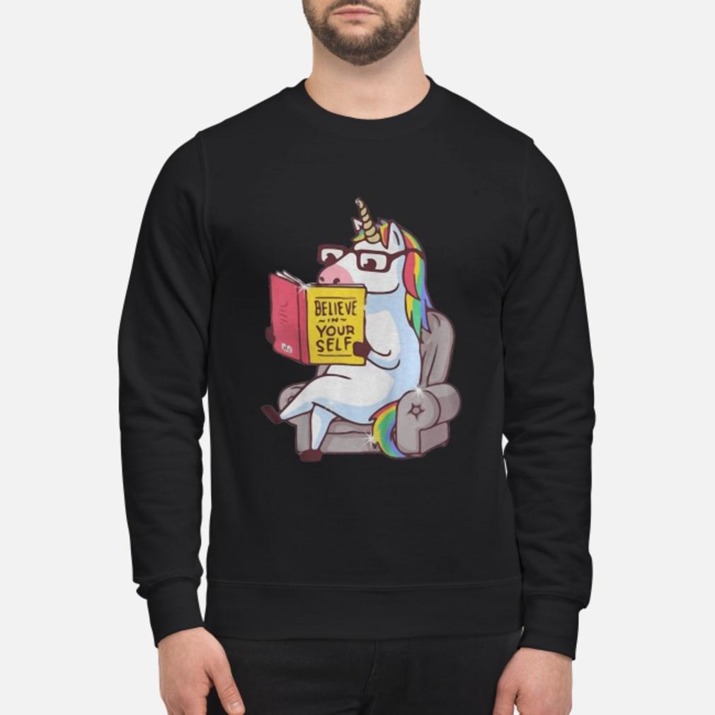 Mr. Unicorn Reads On The Soa shirt sweater