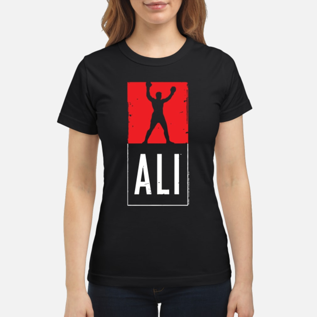 Muhammad Ali Shirt ladies tee