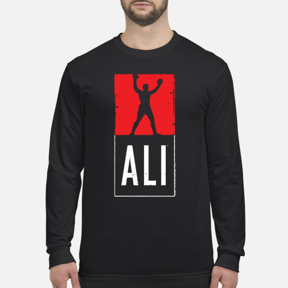Muhammad Ali Shirt long sleeved