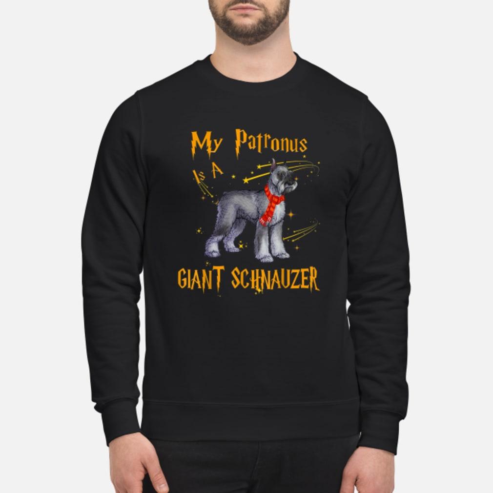 My Patronus Is A Giant Schnauzer Dog Shirt sweater