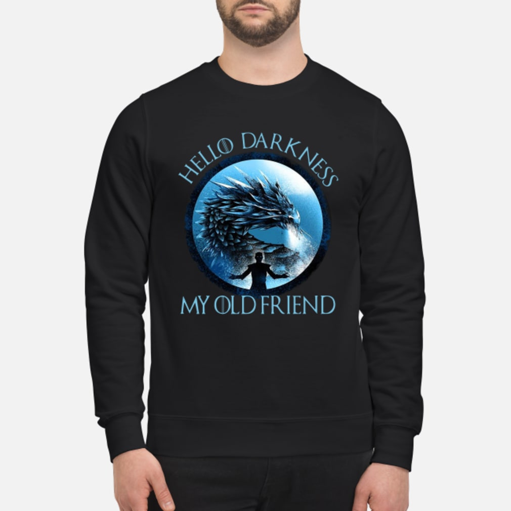 Night King hello darkness my old friend shirt sweater