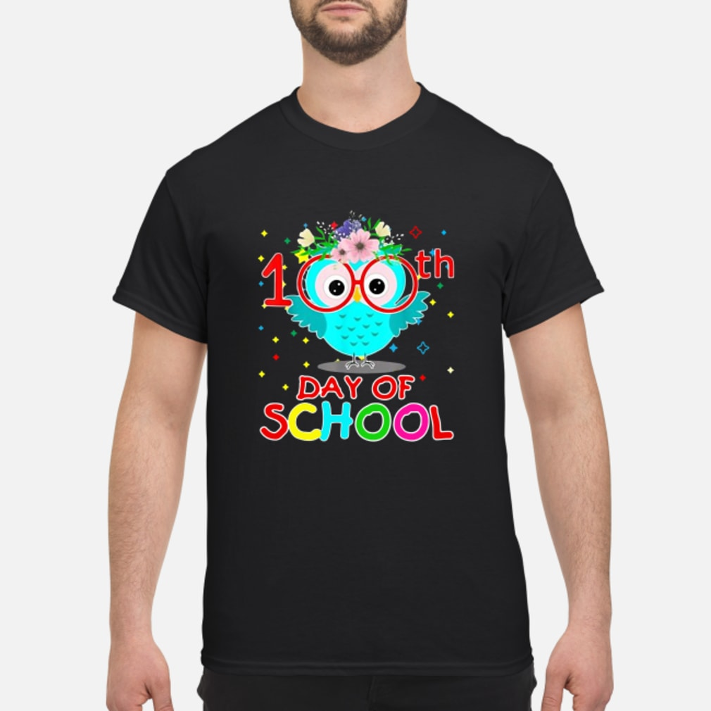 Owls 100th Day of school shirt