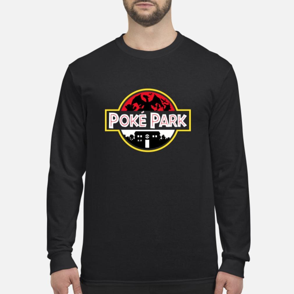 Pokemon Poke park Jurassic park shirt Long sleeved