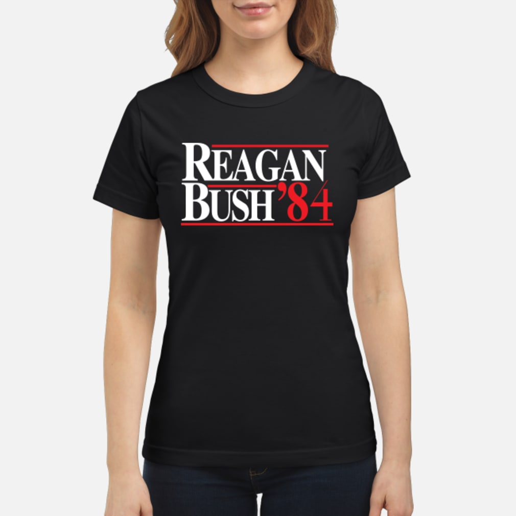 Official Reagan Bush 84 Shirt Hoodie Tank Top And Sweater