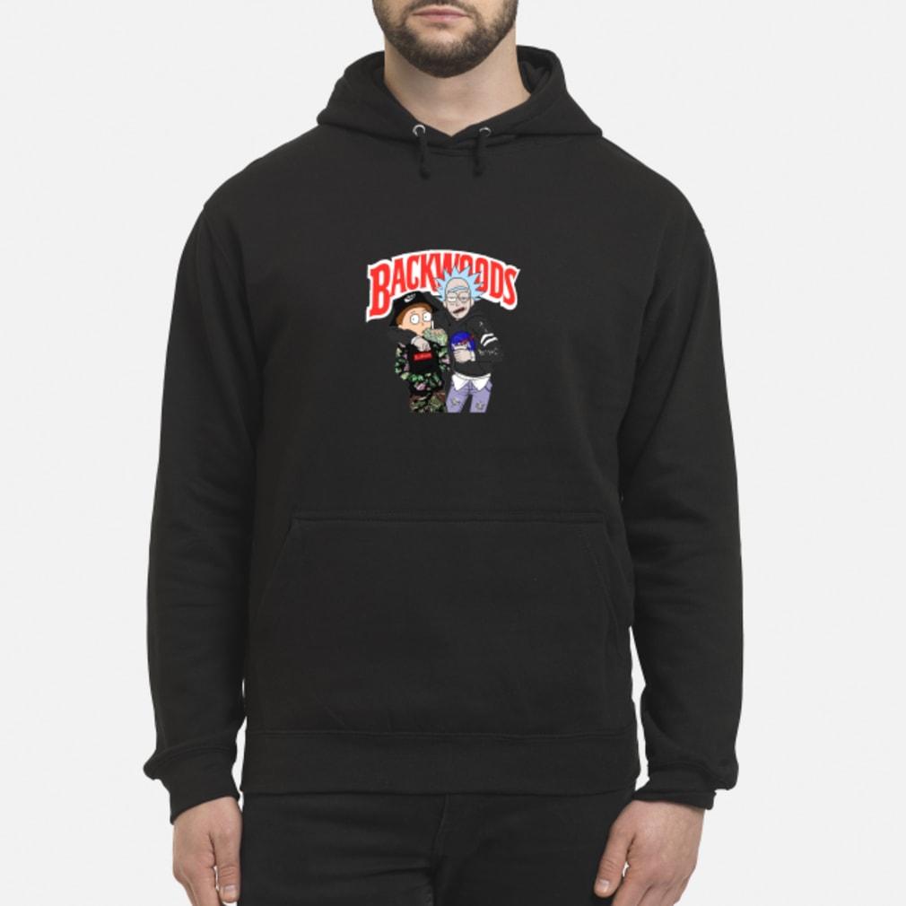 Rick and Morty Backwoods shirt hoodie